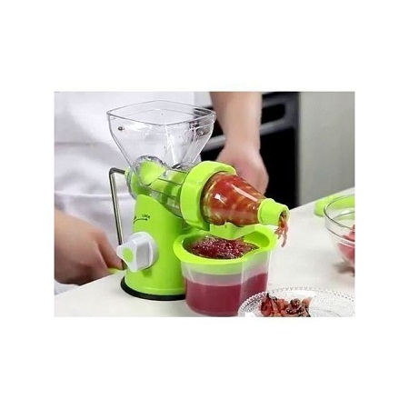 Effective Blender- multi function manual Juicer- fruits and vegetable - Green