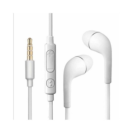 Generic In-Ear Noise Isolating Earphones - White
