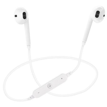 Generic Noise Isolating Bluetooth Earphones - White