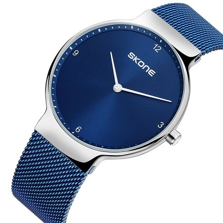 Skone Blue Touch Wrist Watch