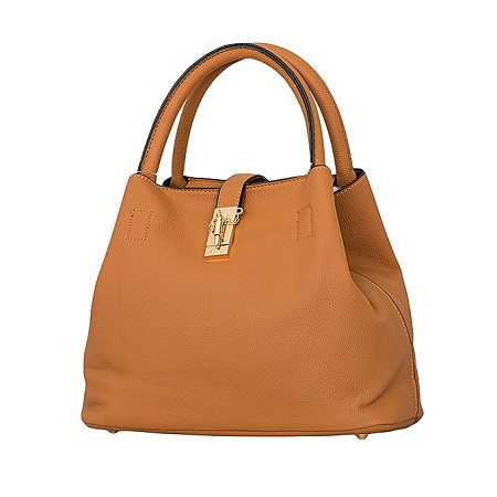Ginger PU Leather Hand Bag