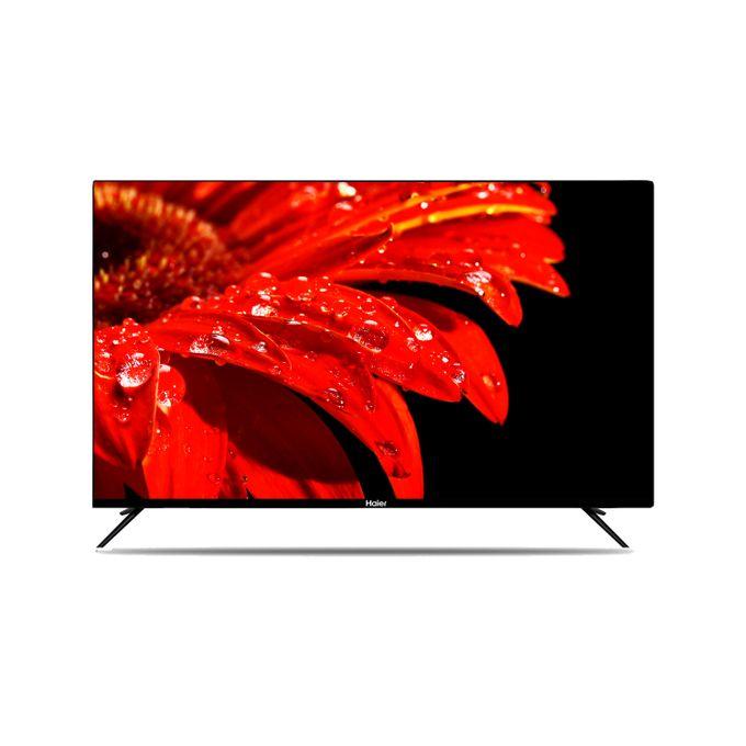 Haier 55inch H55K6UG Smart Android Frameless Ultra HD 4K TV - Black