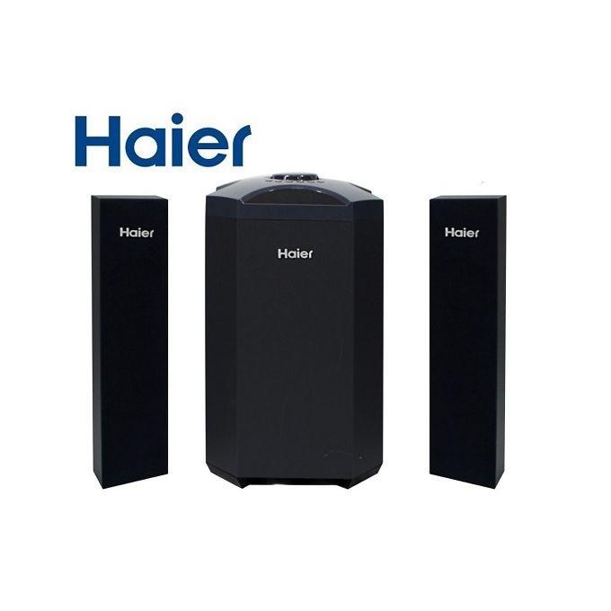 Haier H8001 2.1CH Speaker System 80W - Black