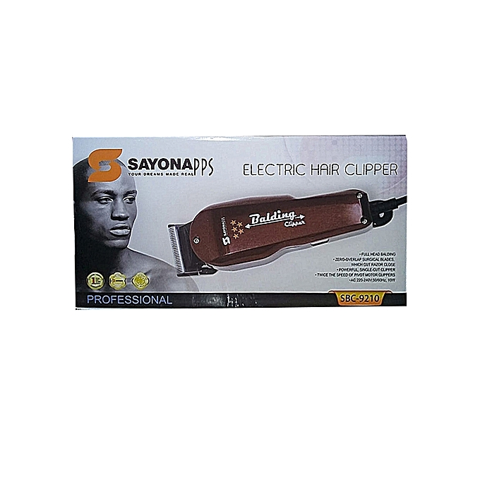 Sayona SBC-9210 Hair Shaving Machine-Electric Hair Clipper-Balding Clipper