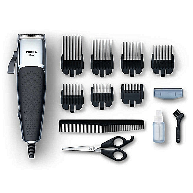 Philips Philips Professional Clipper Electric Shaving Machine, Pro Hair Clipper-Non Slip ,Copper motor Coil,Adjustable/Sharp Blades for precise cut Series 5000