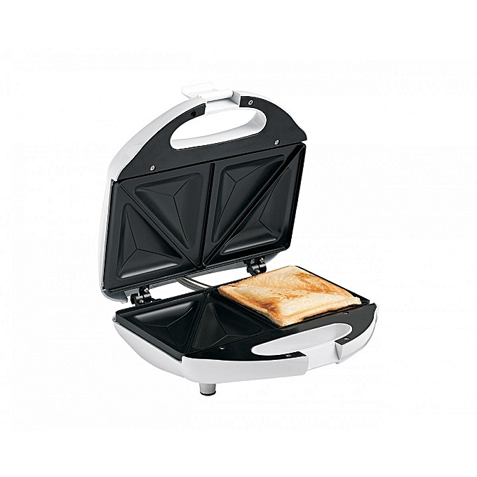 Hoffen Sandwich Maker Toaster Removable Non-Stick Plate/Press Toaster