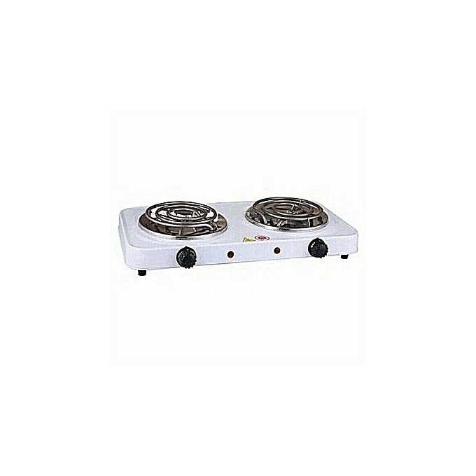 Generic Modern Double Electric Hotplate -Cooker/Table Burner