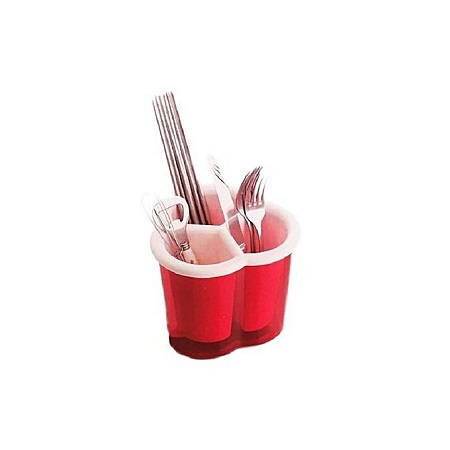 Cutlery Holder-Red