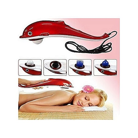 Dolphin Body Massager-Red