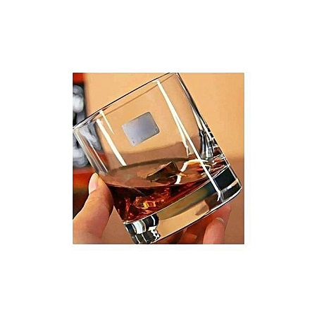 Round Drinking Glasses -6 Glasses -Clear