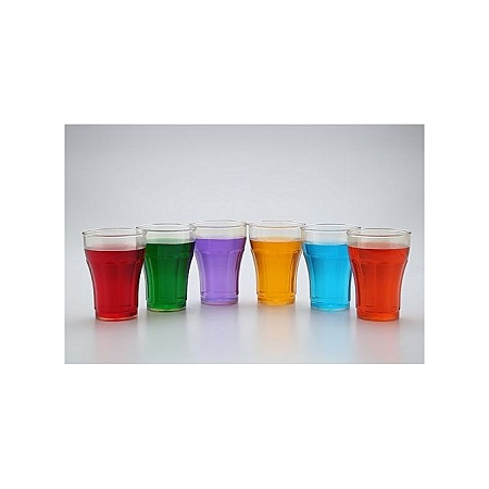PC Unbreakable Glass Set Of 6