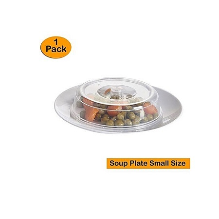 Ventilated Microwave Plate Covers – Microwave Food Covers Soup Plate Size