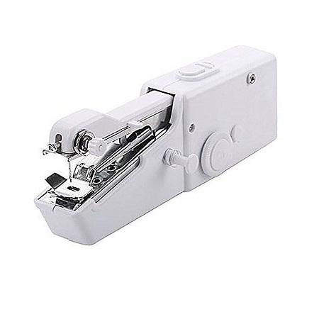 Mini Portable Handheld Electric Mini Hand Sewing Machine-White