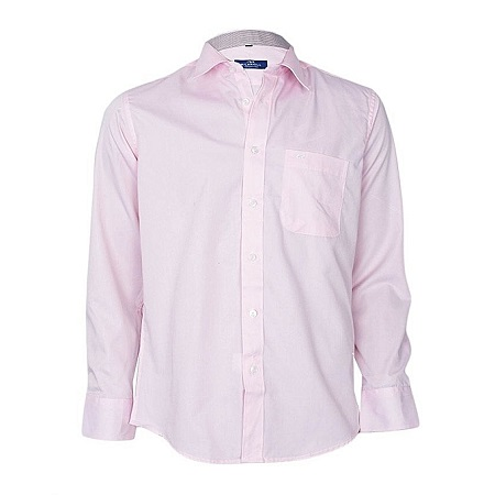 Pink Long Sleeved Formal Shirt
