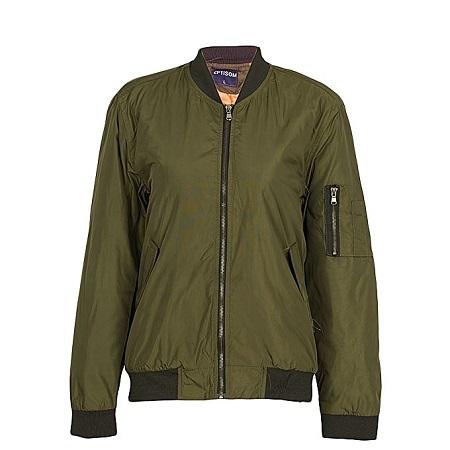 Jungle Green Bomber Jacket