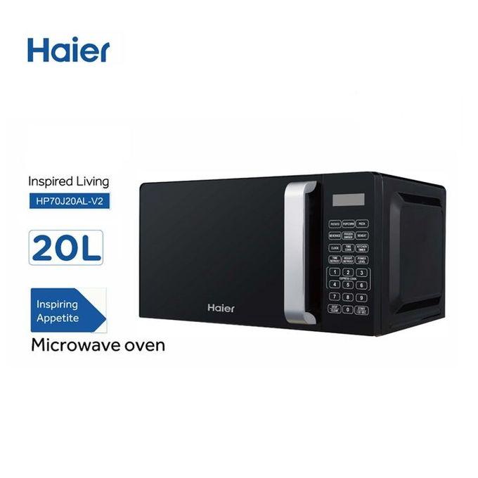 Haier HP70J20AL-V2 - Microwave Oven Mechanical 700W, 20L - Black