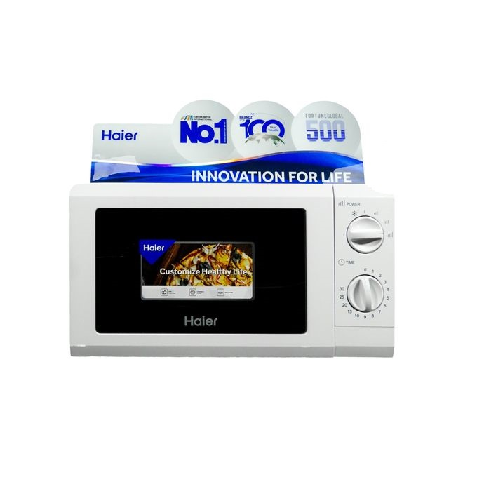 Haier HP70T20-P-V6 - Microwave Oven 700W, 20L - White
