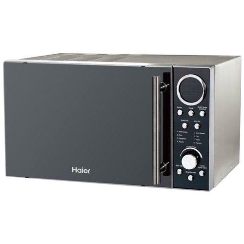 Haier HP90D23EL-B8 Microwave Oven Mirror Glass 900W, 23L - Silver