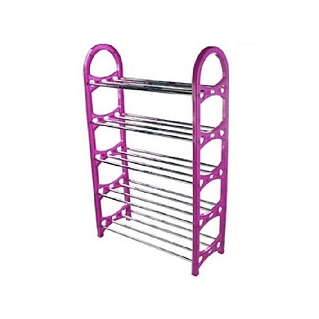 Strong Portable Shoe Rack - Purple