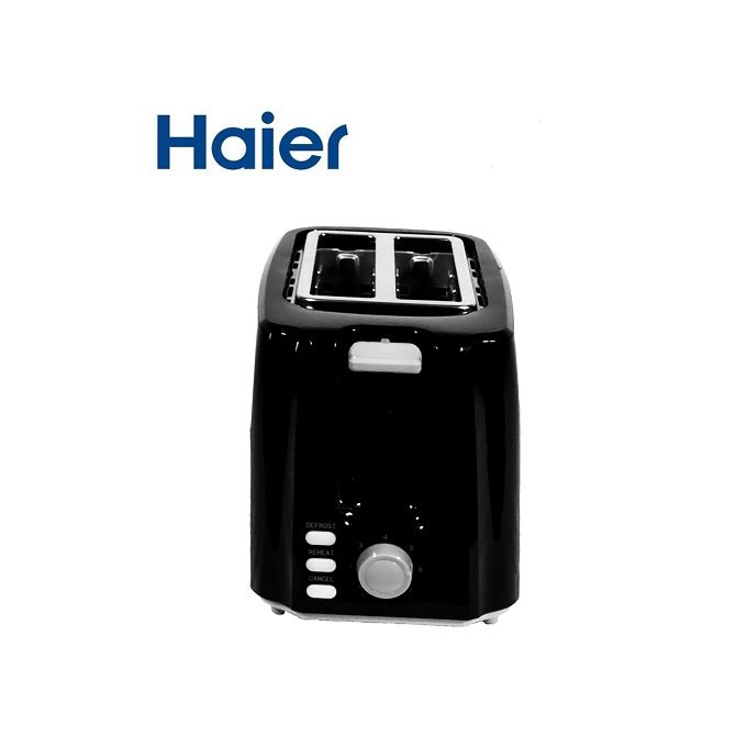 Haier HTAO1301-GS Electric 2 Slice Toaster - Black