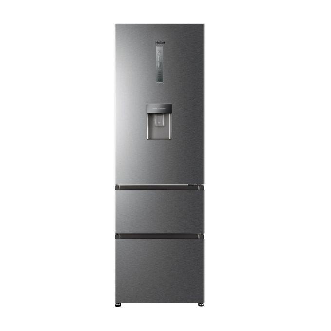 Haier HTR3619FWMP 3 Door Direct Cool Fridge 345 Litres - Silver