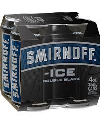 Smirnoff Black Ice Can 330ml Smirnoff 6 Pack