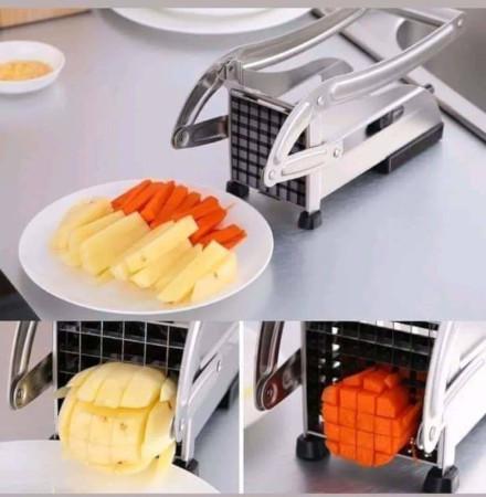 Heavy Chips Cutter Stainless Steel Potato Chopper