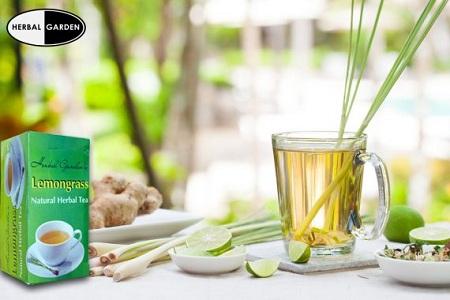 Natural Lemongrass Tea 40g