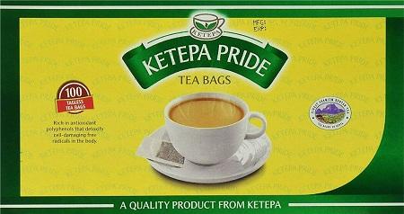 Ketepa Teabags Tagless | 100's x 12