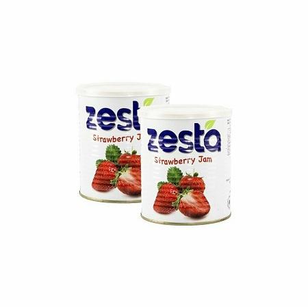 Zesta Strawberry Jam | 1kg x 12