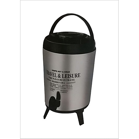 Generic Stainless Steel Portable Hot Water Catering Coffee/Tea Urn, 9.5L
