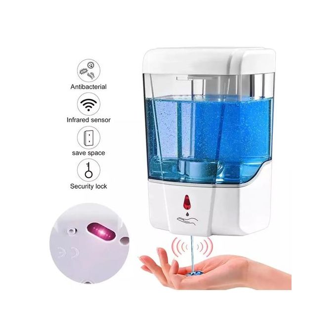 Generic Wall Mounted Automatic Hand Sanitizer & Soap Dispenser