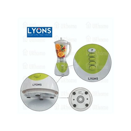 Lyons Blender 2 in 1 with Additional Grinder Machine 1.5L - FY-1731