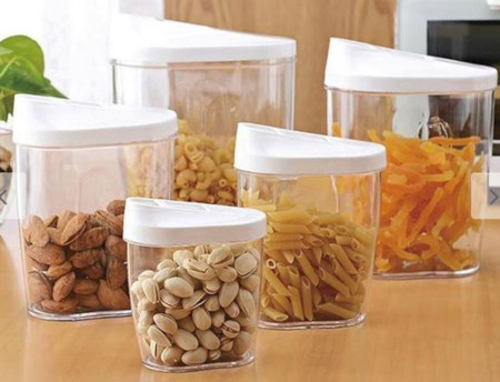 10 Piece Food Cereal Snack Container Storage Set
