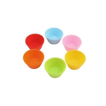 12 Pcs Silicone Cupcake Molds