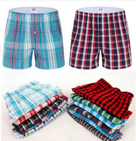 6 Pieces Boxer Shorts, Pure Cotton Multi-color L