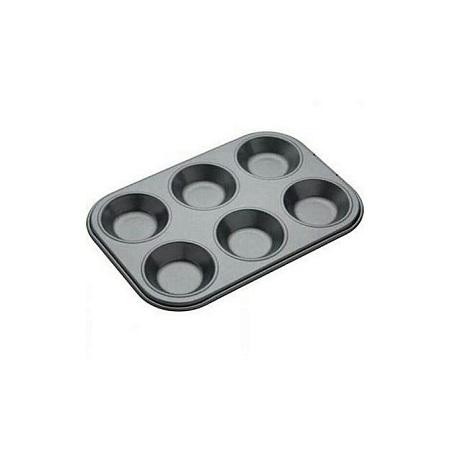 6-Hole Non-Stick Muffin / Cupcake Tray Baking Tray Pan