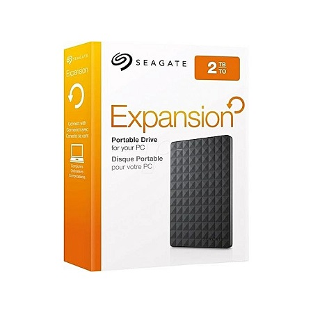 Seagate 2TB Expansion USB 3.0 Portable External Hard Drive
