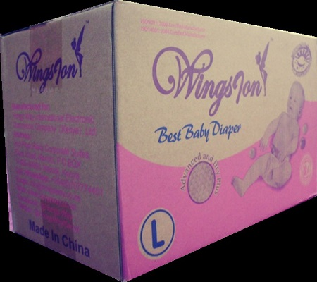 BABY DIAPERS LARGE 13 - 18 KG