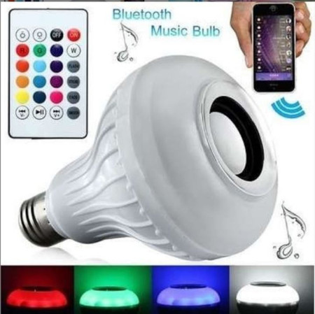 Bluetooth music bulb speaker