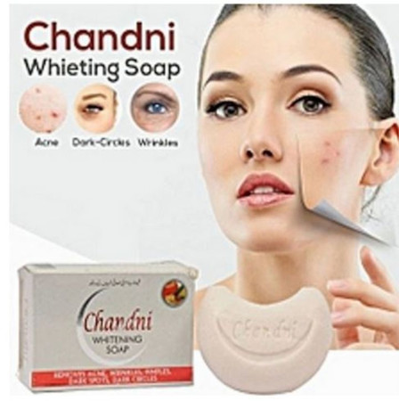 Chandni Whitening Soap; Acne, Dark Spots, Wrinkles, Pimples Solution