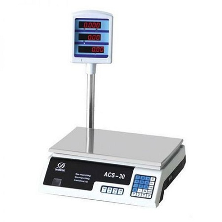 Generic Digital Scale Electronic Market Balance Weighing Machine for Fruits,Meats,Vegetables Price -30KG
