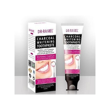 Dr. Rashel Charcoal Teeth Whitening Toothpaste Black