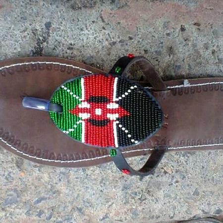 Fashion Maasai Ladies Sandals