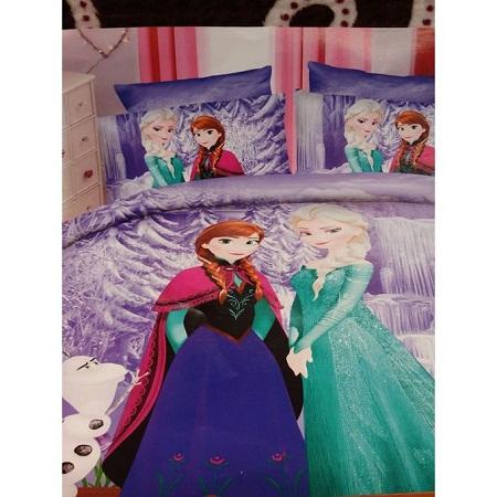 Kids Cartoon Themed Duvet (Frozen)