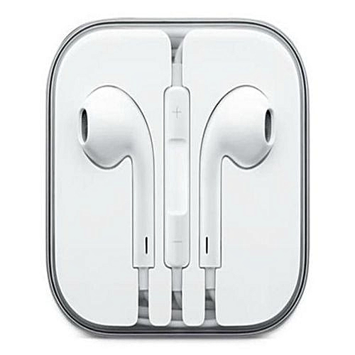 Generic Earphones for iPhone, Android phones - White