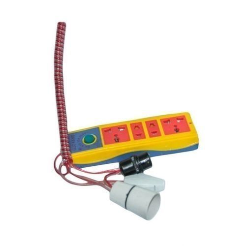Generic Extension Cable With Bulb Holder And Switch -Yellow And Blue