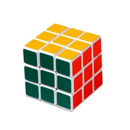 Generic Fancy Magic Rubik's Cube For Children - Multicolored