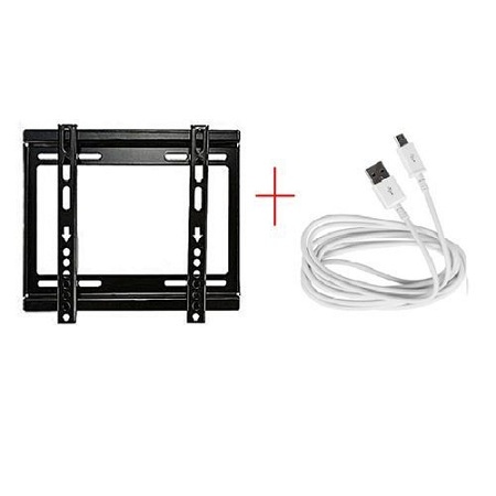 Generic 14'' - 42'' TV Bracket with Free android charging cable