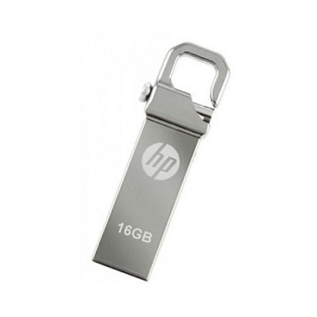 HP Flash Disk With Clip - 16GB - Silver